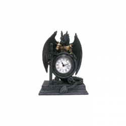 Horloge dragon guerrier