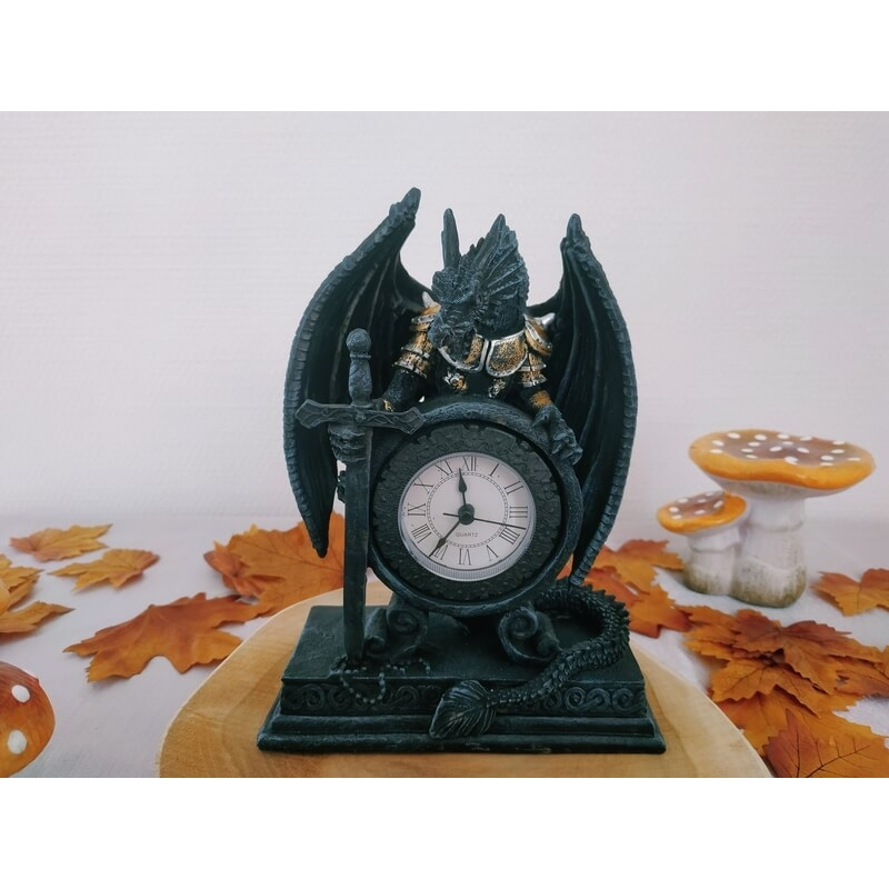 horloge dragon guerrier - 001